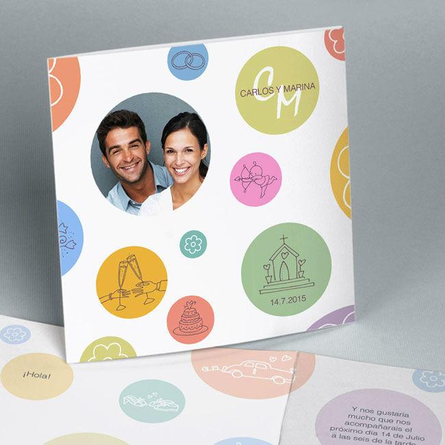 Invitaciónes de boda Easycards