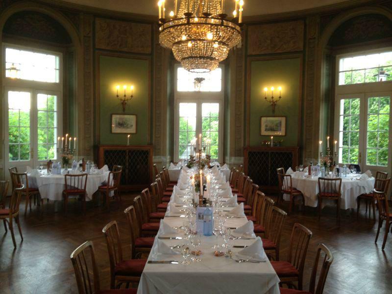Beispiel: Jagdsaal, Foto: Café-Restaurant Lusthaus.