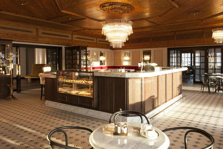 Beispiel: Café, Foto: Interalpen Hotel.