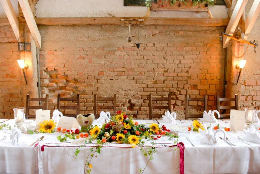 Beispiel: Tischdekoration, Foto: Eventstadl