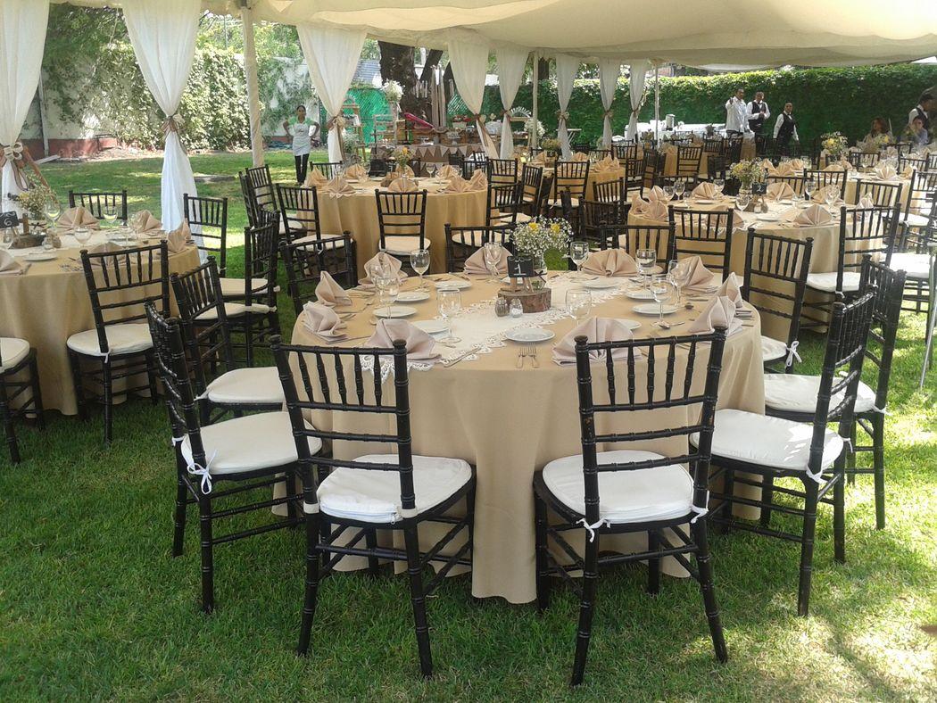 Jardín Rancho Alegre evento