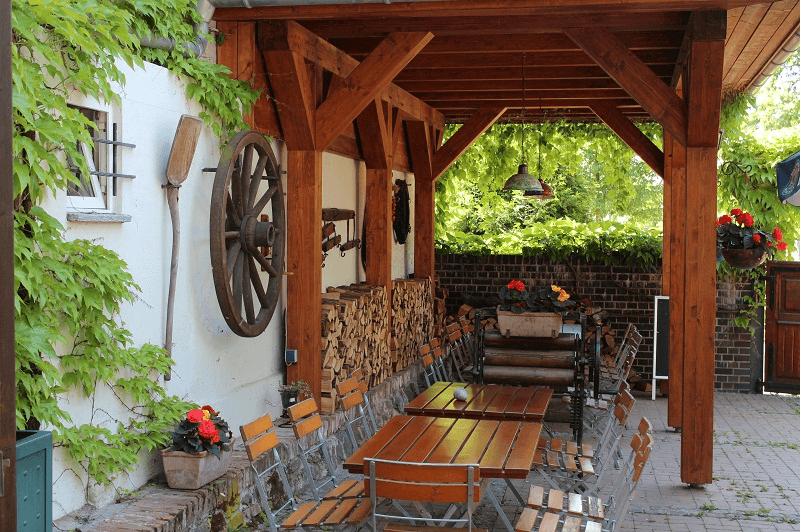 Beispiel: Terrasse, Foto: Mélange - Restaurant und Café.
