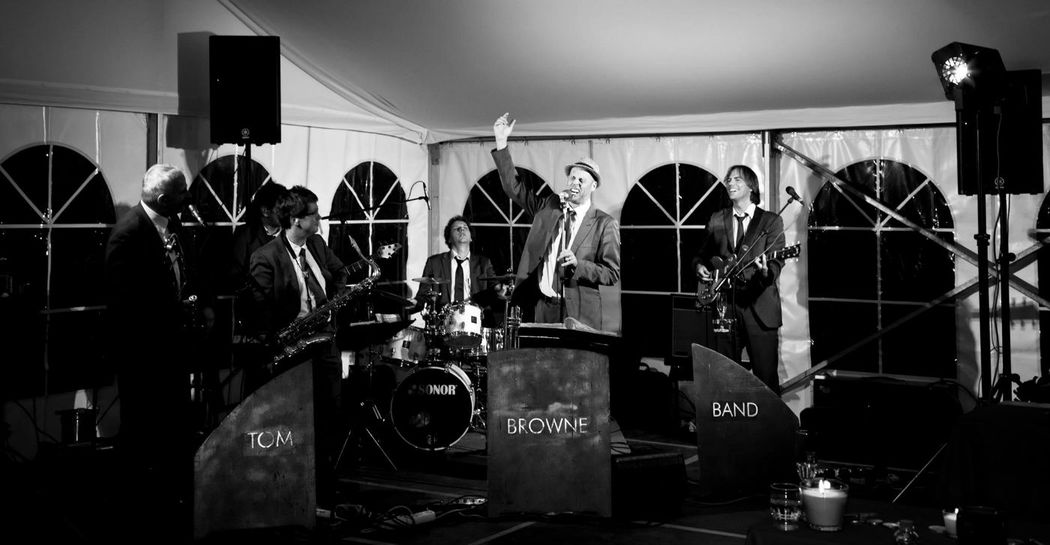 Beispiel: Band, Foto: Tom Browne Band.