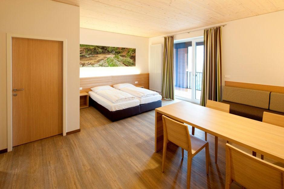 Beispiel: Zimmer, Foto: Burg Kreuzen.