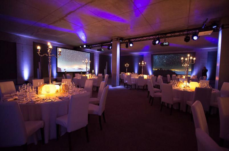 Beispiel: Hochzeitsbankett, Foto: Dahlmann Catering.