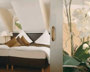Beispiel: Hotelzimmer, Foto: Burg Staufeneck.