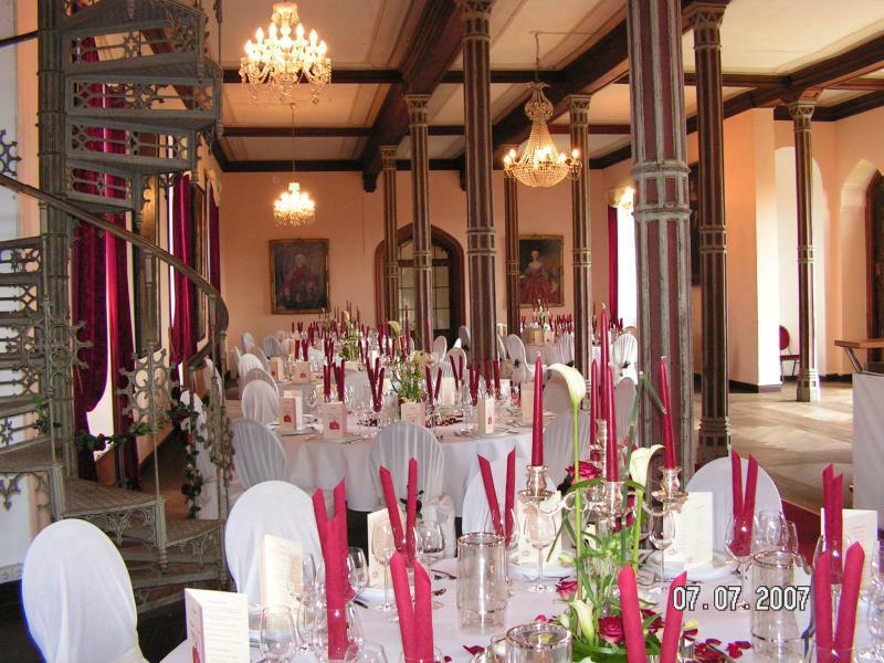 Beispiel: Dekoration für Ihre Hochzeitslocation, Foto: Die-Erlebnishochzeit.de.