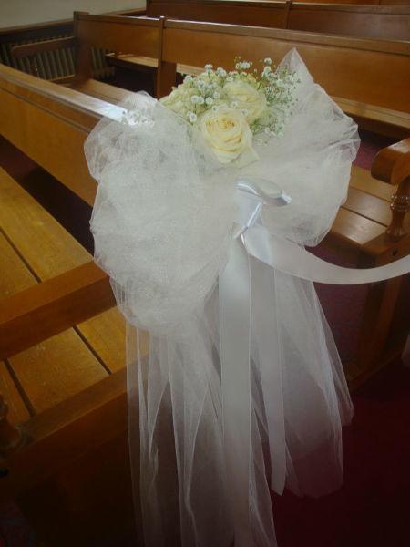 Décoration florale église - Tiges et Pétales