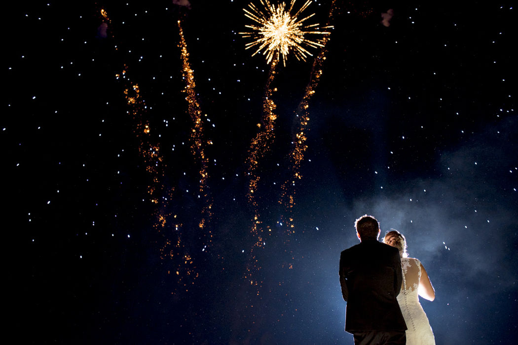 Feu d'artifice - mariage