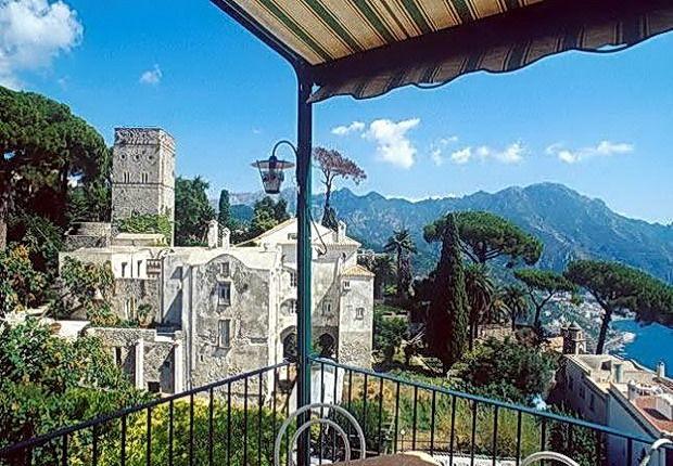 Vista dall' Hotel Rufolo