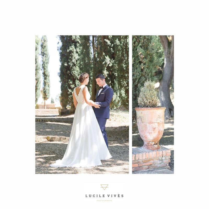Mariage au domaine de Roques Ariège - Lucile vives Photographe