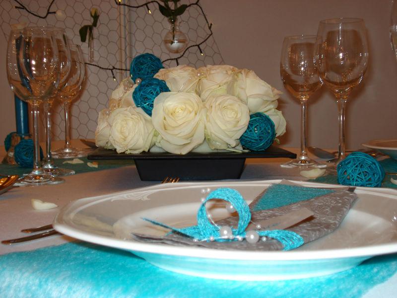 Beispiel: Kreative Hochzeitsdekoration, Foto: Hussen und mehr...