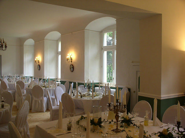 Beispiel: Saal - Bankett, Foto: Schloss Neuhausen.
