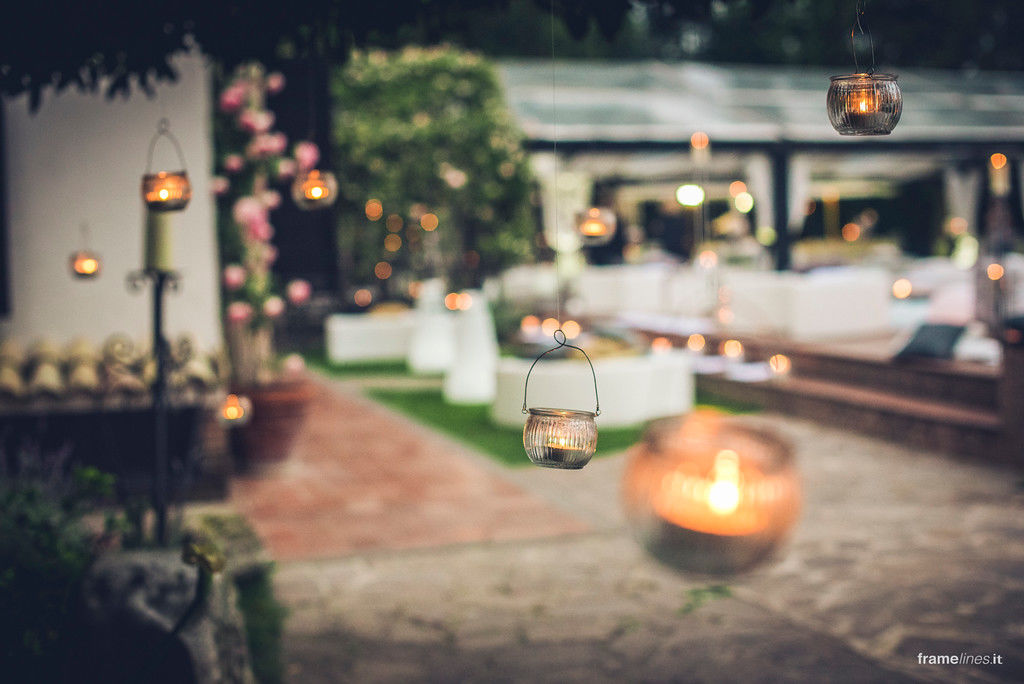 candele e atmosfera d'incanto