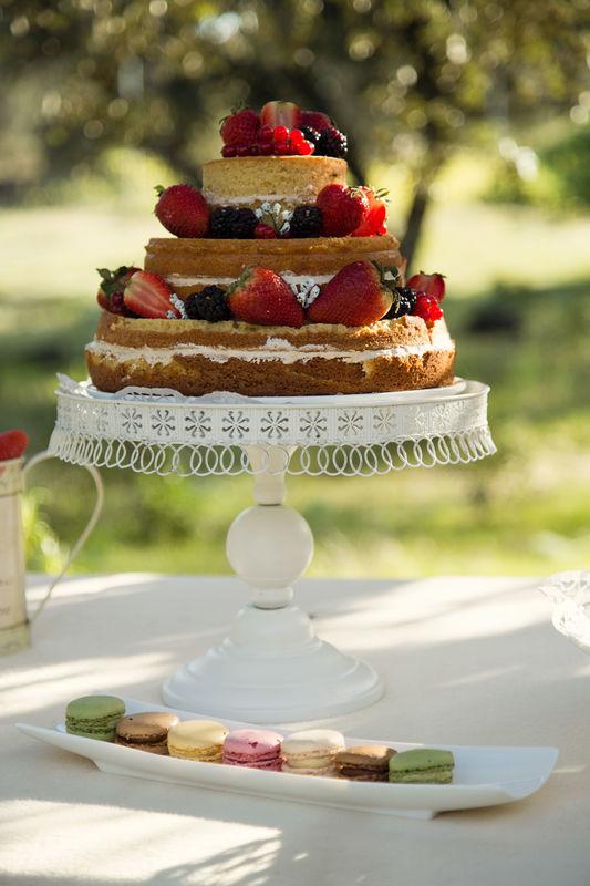 Bodas & Alegria Tarta de boda casera hecha por nosotros!
