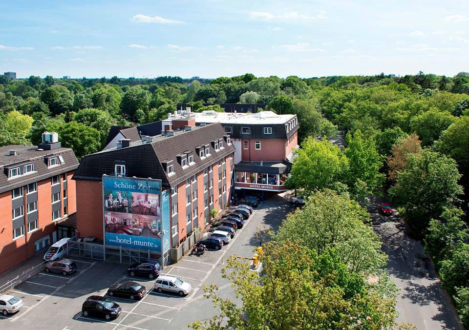 Beispiel: Außenansicht, Foto: Hotel Munte.