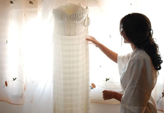 L'abito, il più atteso insieme alla sposa