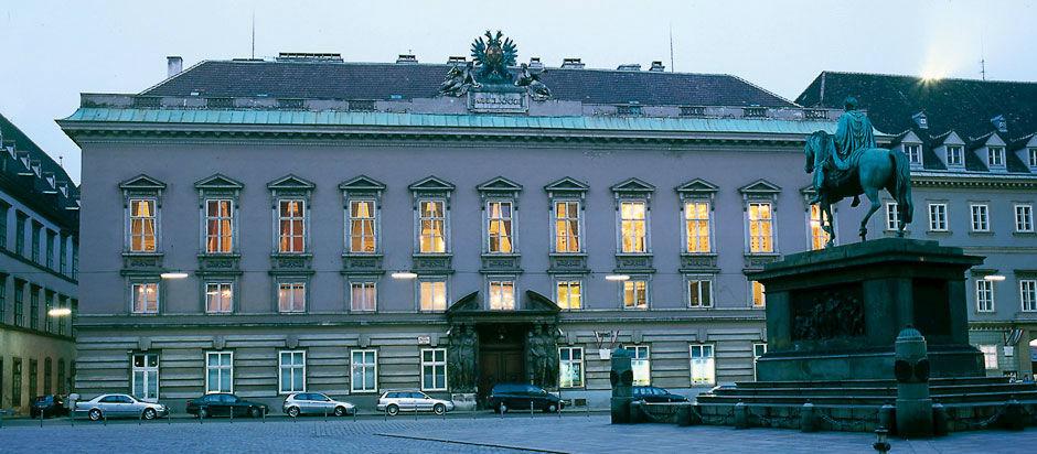 Beispiel: Außenansicht, Foto: Palais Pallavicini.