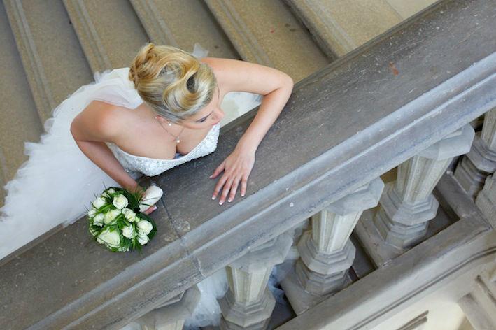 Beispiel: Braut, Foto: Lichtklick Fotografie.
