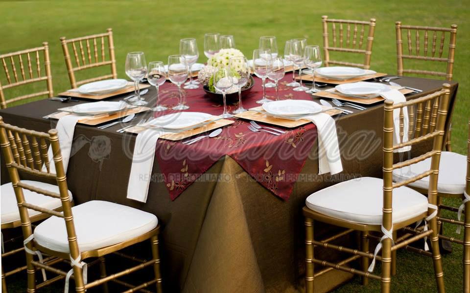 Cassandra Eventos, mobiliario para bodas en Jalisco.