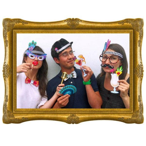 Beispiel: Photobooth - ein bunter Mix, Foto: Sweet Wedding Hochzeitsdekoration.