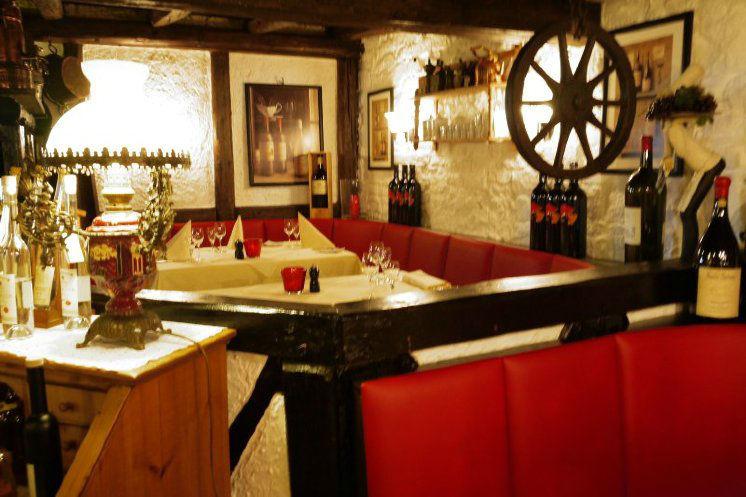 Beispiel: Restaurant, Foto: Landhaus Alte Scheune.