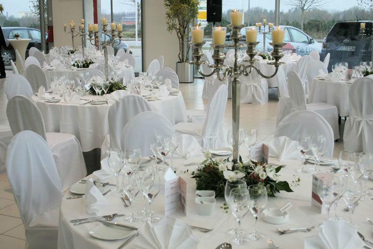 Beispiel: Elegantes Hochzeitsmenü, Foto: Brunckhorst Catering.