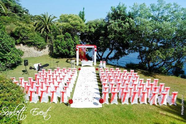 Decoration ceremonie laïque