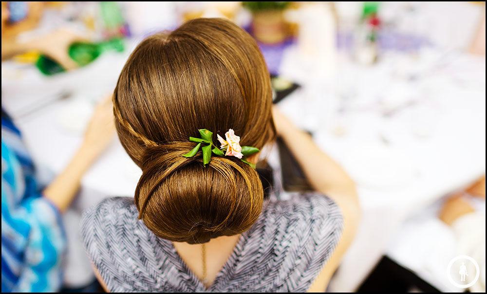 Beispiel: Wunderschöne Hochzeitsfrisuren, Foto: Marco Schwarz