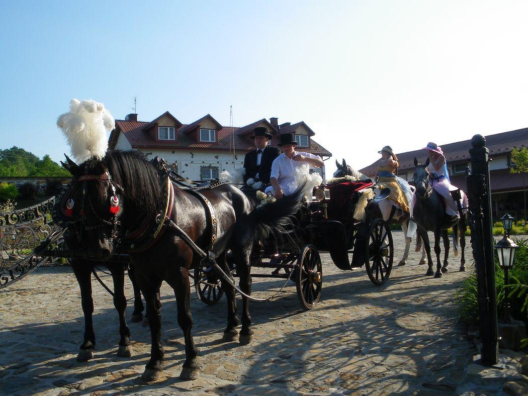 Impresja Krasiczyn - Wesele z Bryczką