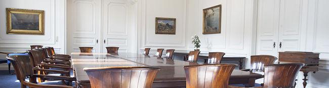 Beispiel: Tagungsraum, Foto: Schlosshotel Ralswiek.