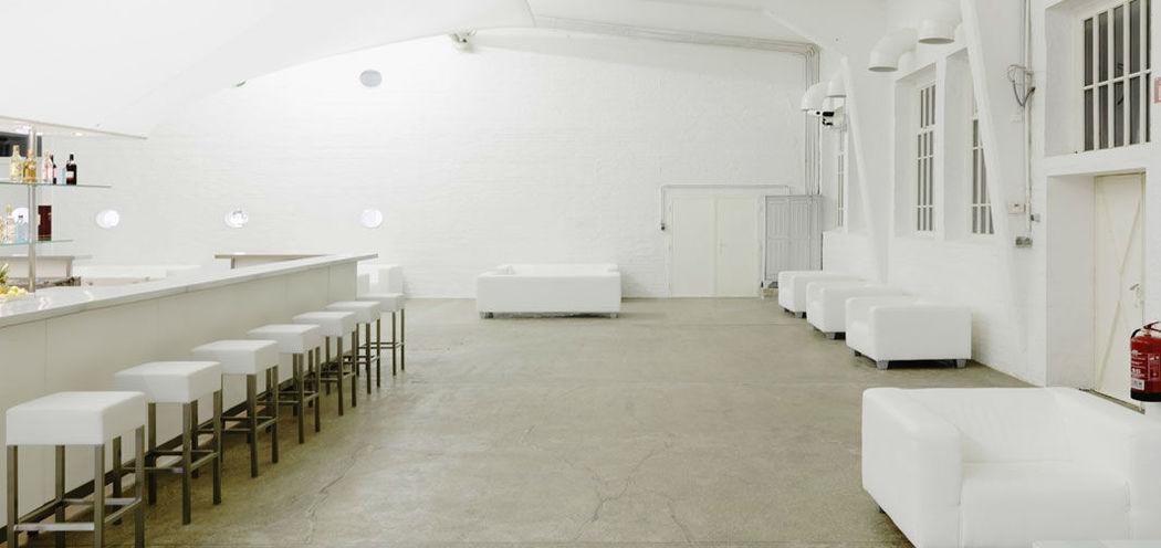 Beispiel: Weitläufiger Saal, Foto: Nordlicht Events.