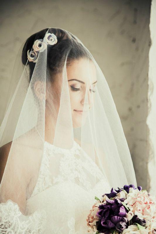 невеста Карина причёска и макияж - Нелли Шварц  фотограф - Анна Галкина