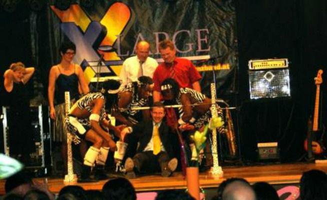 Beispiel: Tanzband X-LARGE, Foto: Tanzband X-LARGE.