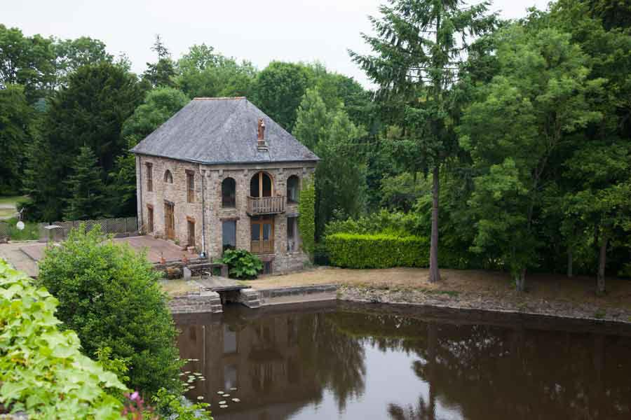 Château de Miniac Morvan - le moulin