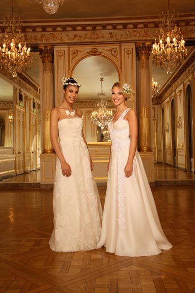 Beaumenay Joannet Paris - robes de mariée Couture , fluide romantique