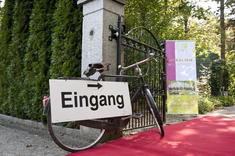 Beispiel: Eingang, Foto: Traumgarten Thalwil.