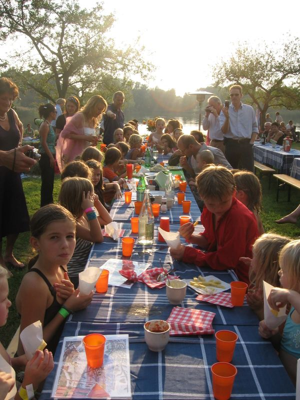 Kids Wedding dinner