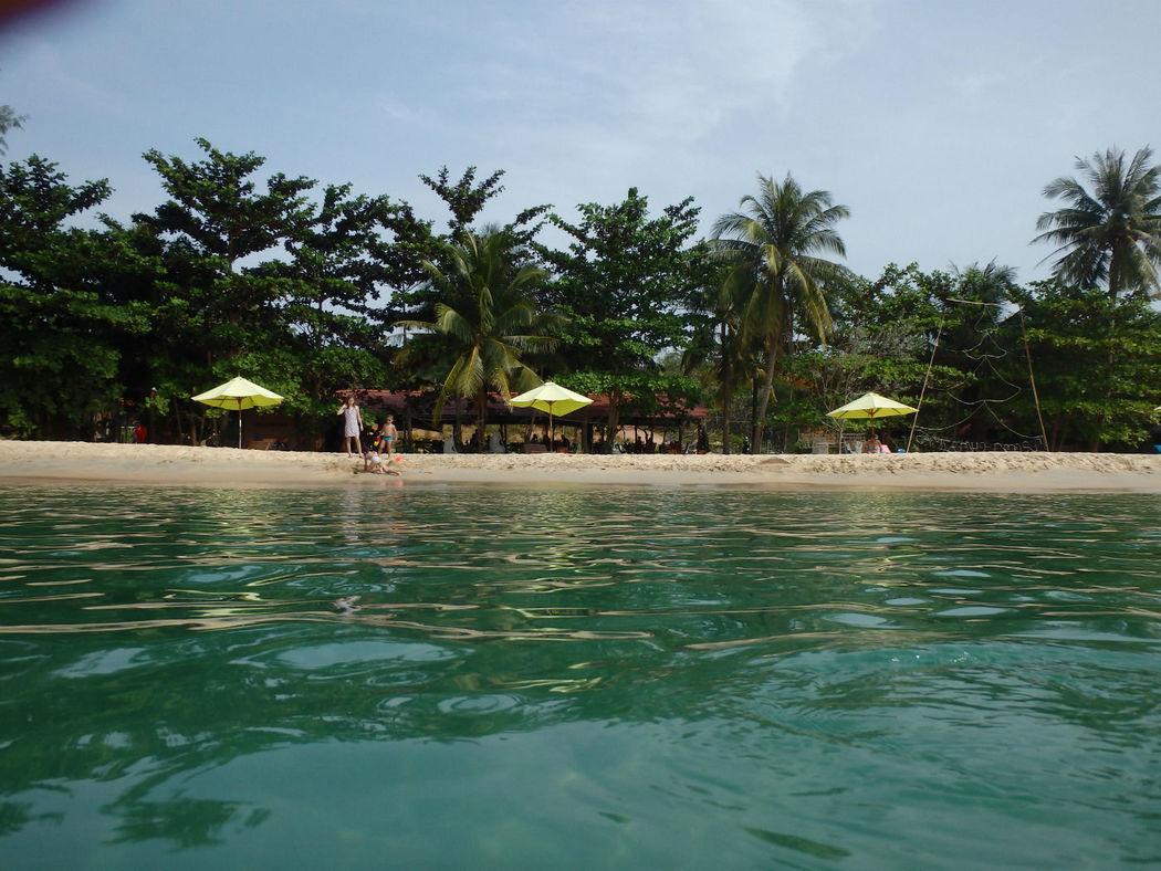 Beispiel: Türkisfarbenes Wasser, Foto: Ao Dai Travel.