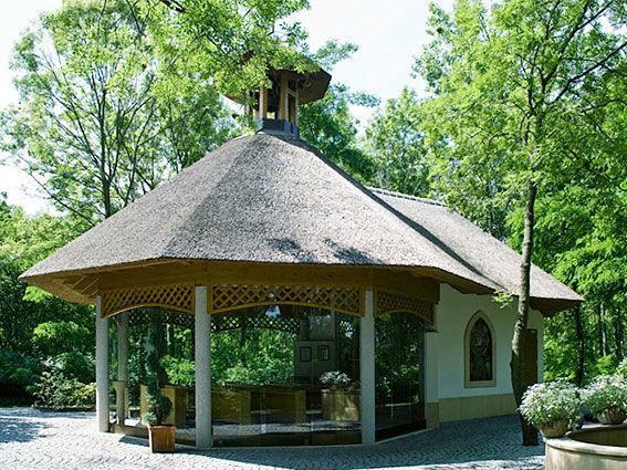 Beispiel: Gartenhäuschen, Foto: Hotel Vila Vita Pannonia.