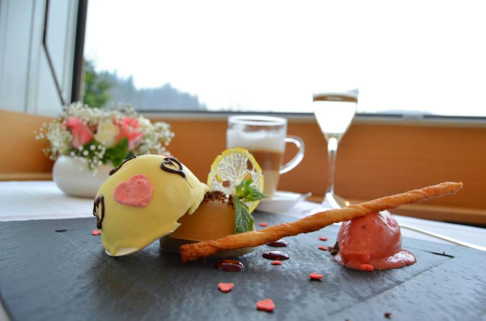Beispiel: Ihr spezielles Hochzeitsmenü, Foto: Bad Schauenburg.