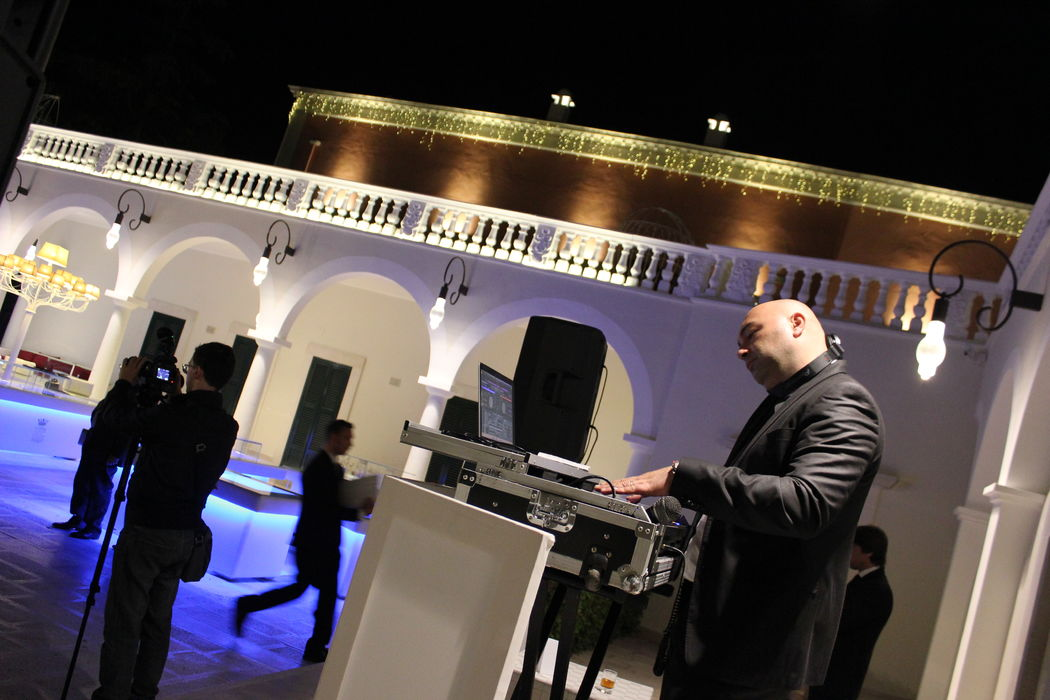 Francesco Vurchio dj Live at Villa Ciardi