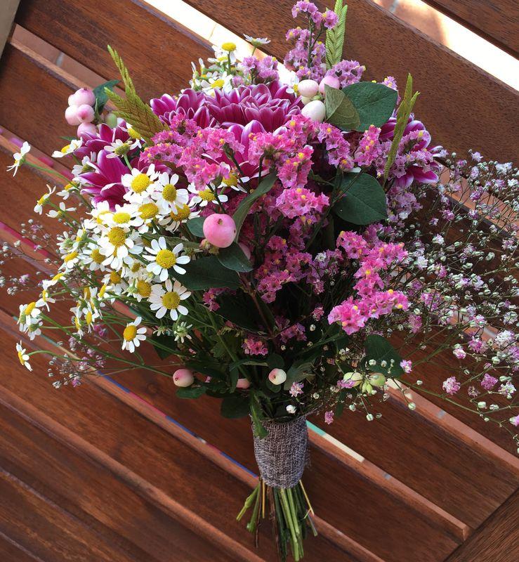 Ramo flor  natural