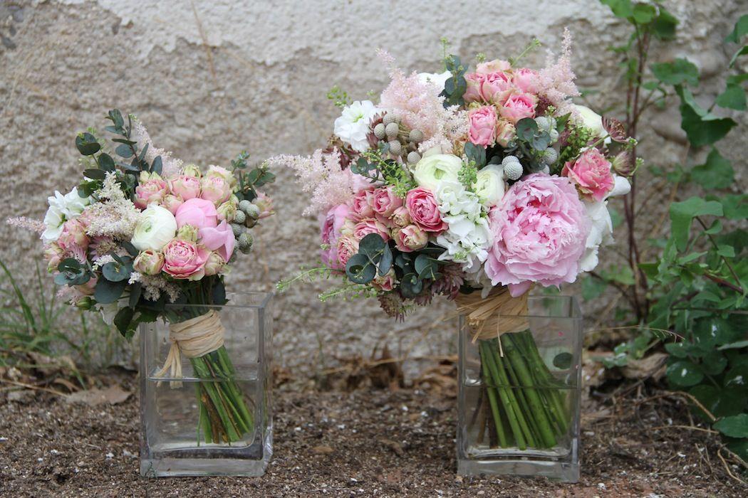 ramo de novia con réplica
