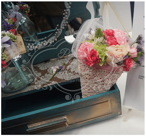 Flores con detalles para dar un toque vintage