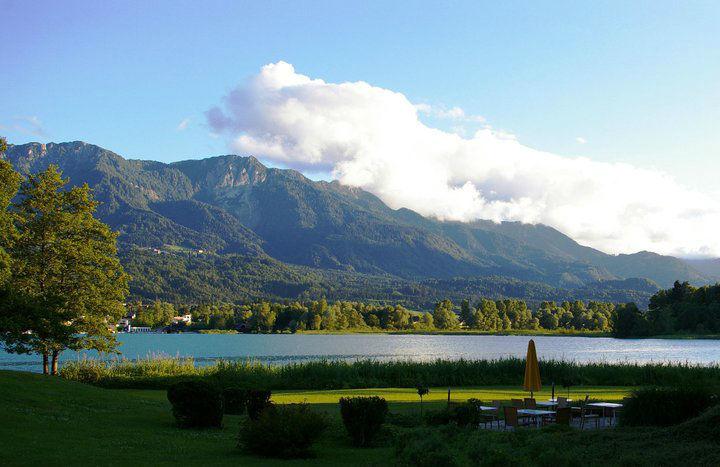Beispiel: Traumhafter Ausblick, Foto: Inselhotel Faakersee.