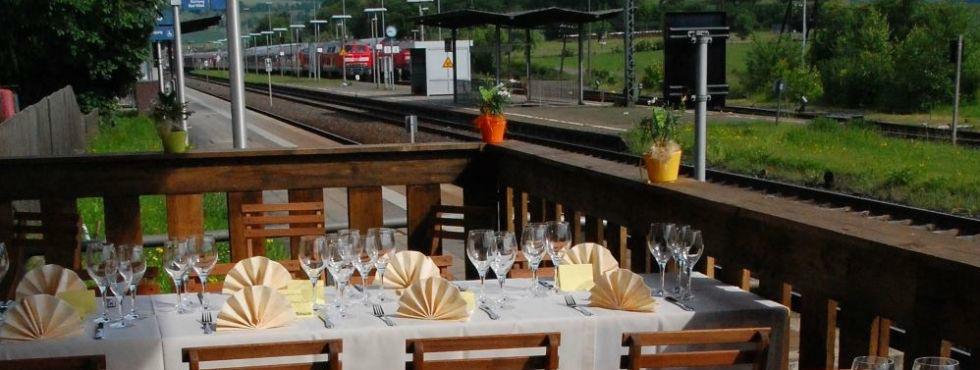 Beispiel: Festliches Menü oder Buffet, Foto: Stroh Catering.