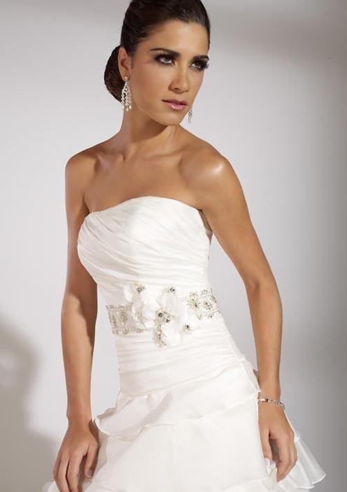 Vestido importado talla 42 color blanco