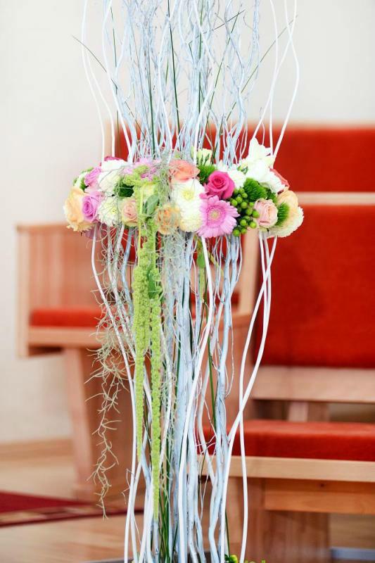 Beispiel: Blumenschmuck, Foto: Deko Dana.