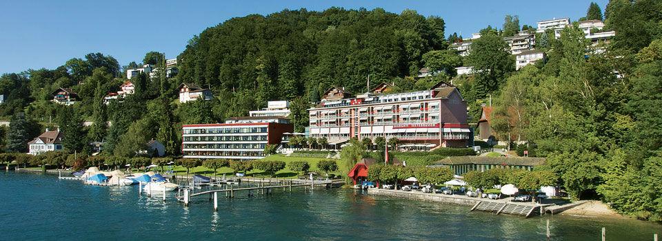 Beispiel: Das Hotel, Foto: Seehotel Hermitage.